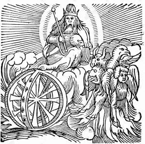 ezekiels-vision-of-chariot-in-sky-c614-bc-bible-ezekiel-ii9-one-modern-D96B29