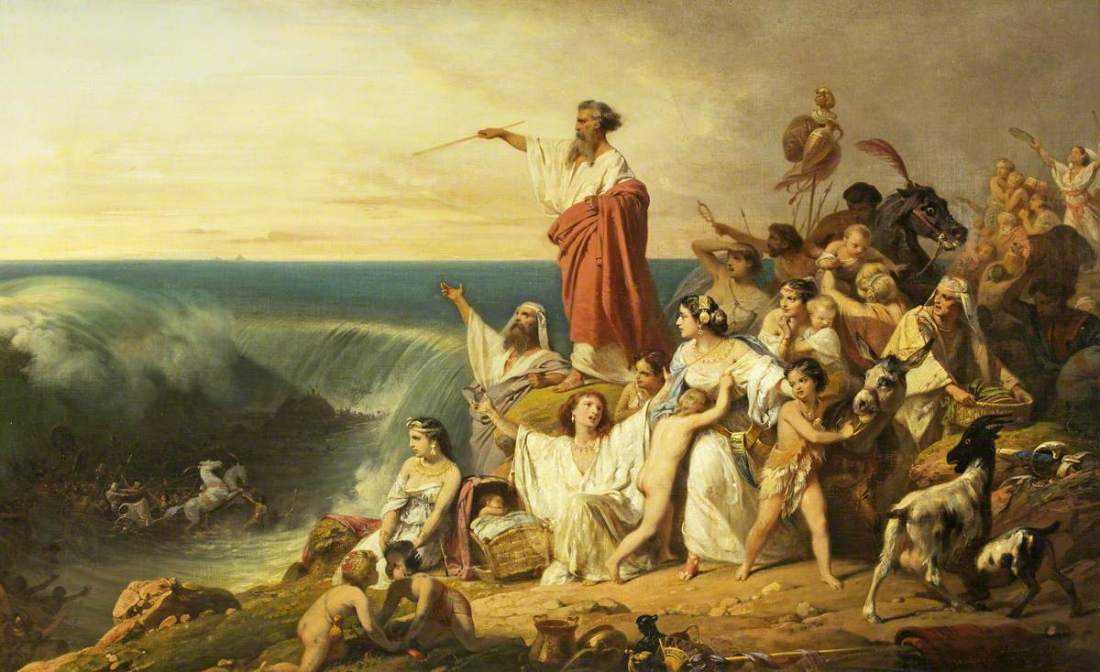 Schopin, Frederic, 1804-1880; The Children of Israel Crossing the Red Sea