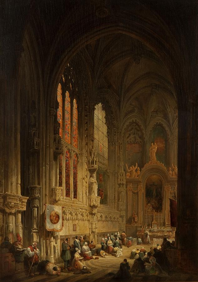 interior-of-a-cathedral-1822-or-1829-david-roberts
