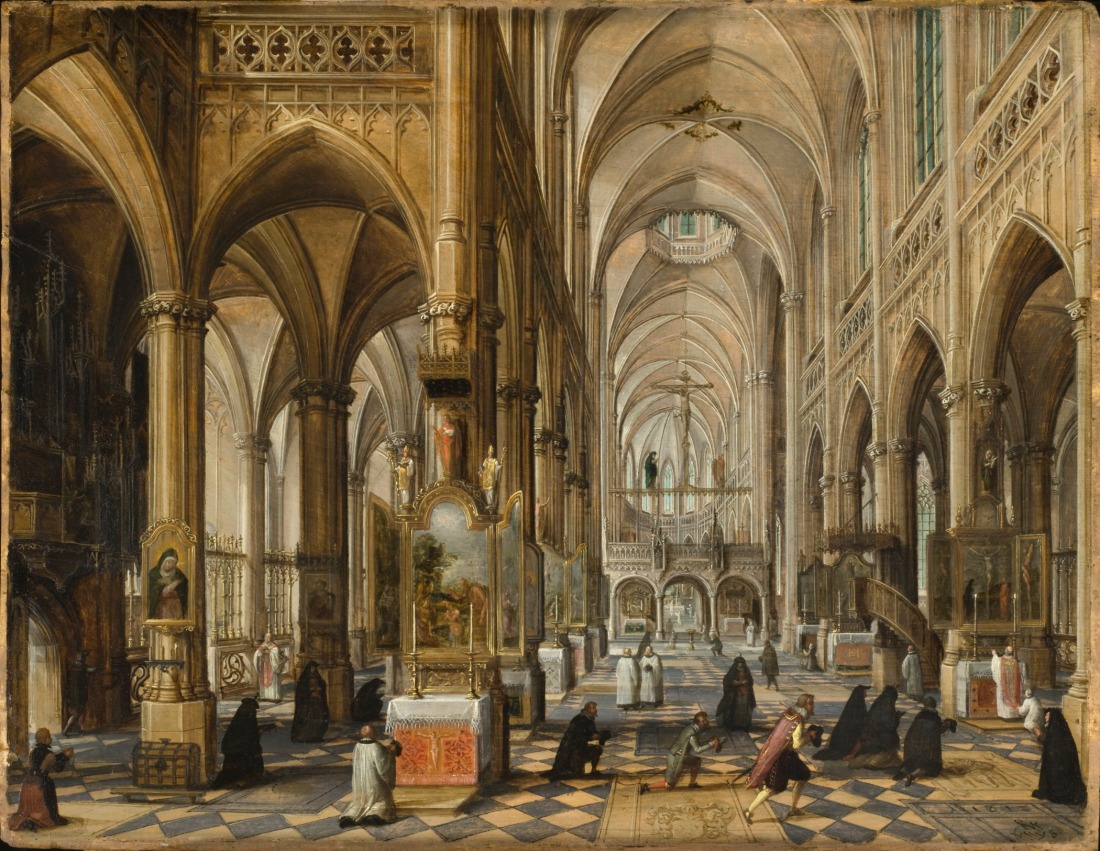 Interior_of_a_Gothic_Cathedral_LACMA_49.17.5