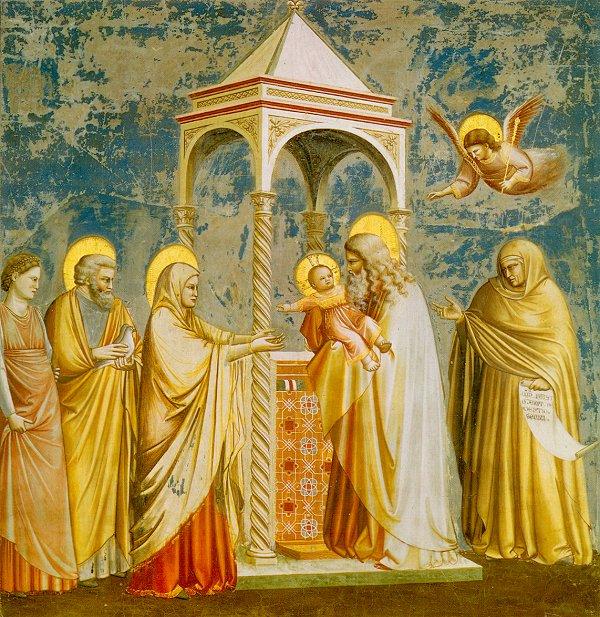 Presentation, Giotto