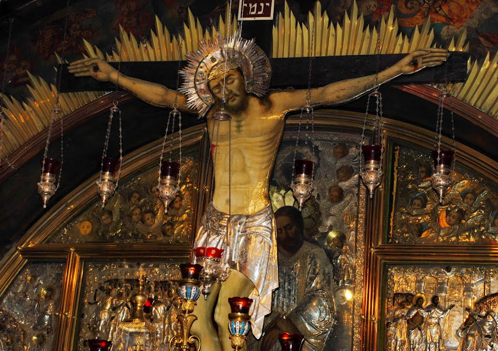 Holy Sepulchre_Crucifixion Chapel