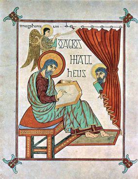 Veil (Matthew, Lindisfarne Gospels)