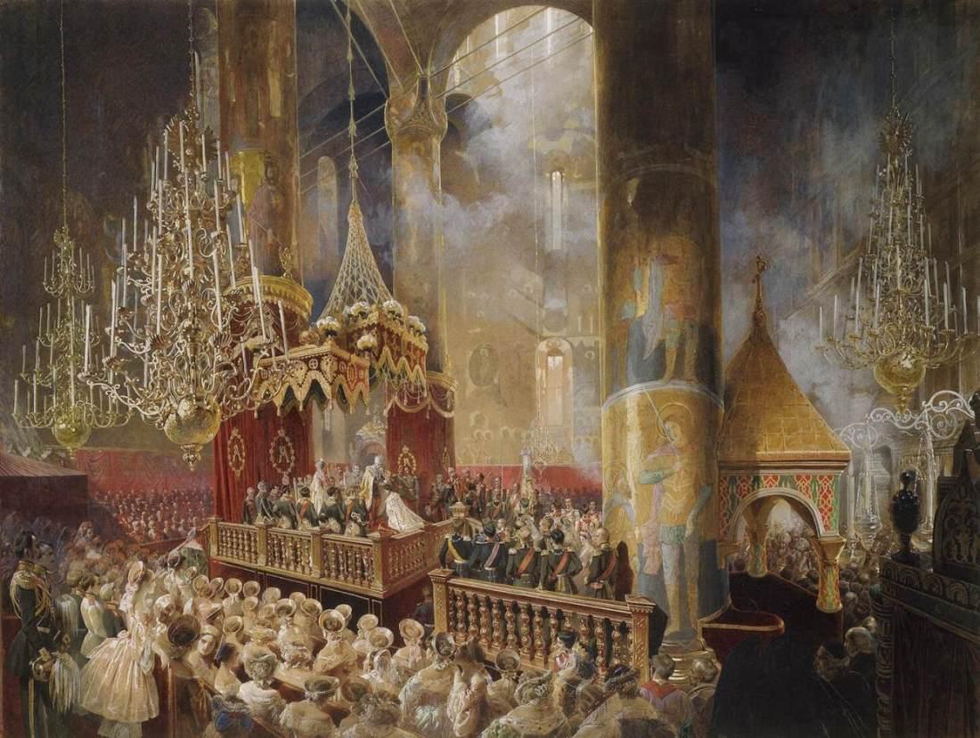 Alexander II Coronation