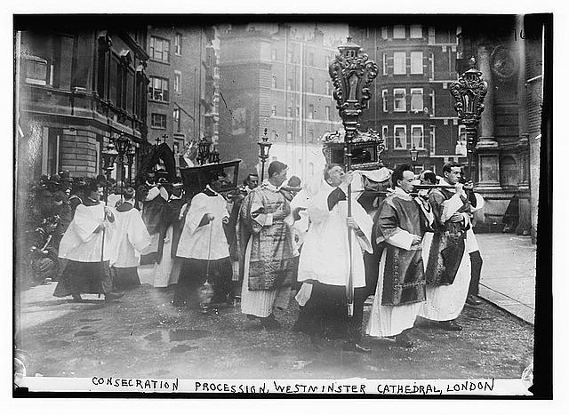 Consecration Procession, Westminster Cathedral, London