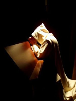 Image result for monks at night