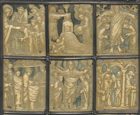 Offertory (Drogo Sacramentary)