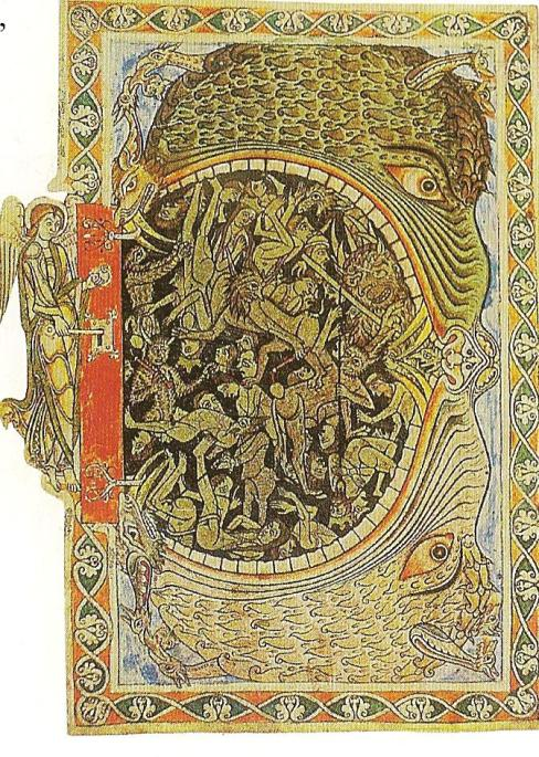 Jaws of Hell (Winchester Psalter)