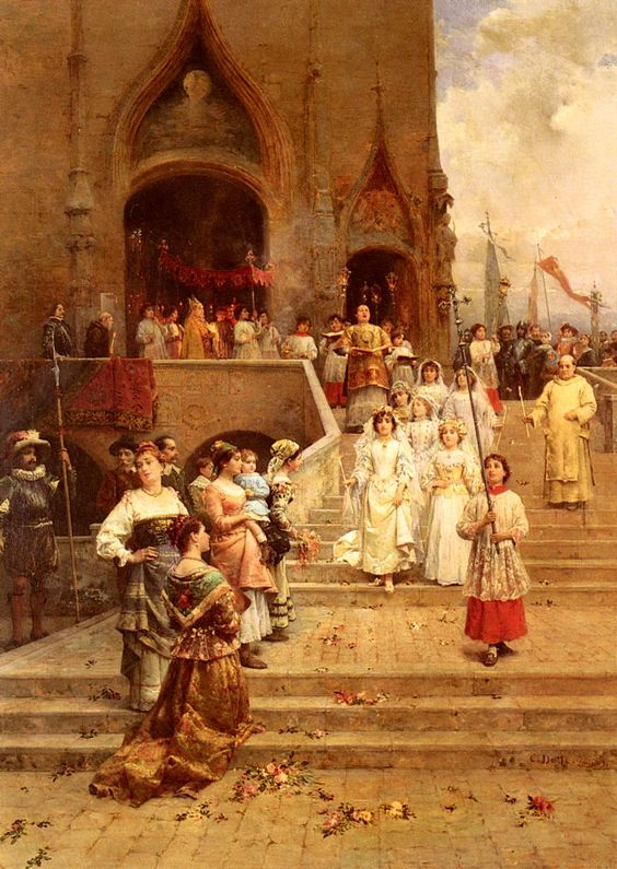 alter servers 14 (cesare-auguste detti (cesare auguste detti), the confirmation procession)