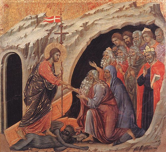 Harrowing 4 (Duccio, 14th c)