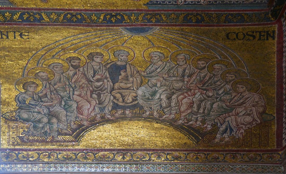 monreale-cattedrale-mosaik-pfingsten
